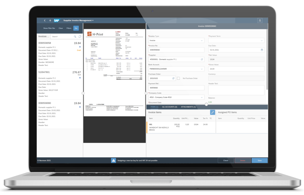 Supplier Invoice Processing Tool, 3